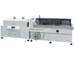 Machines de conditionnement en L semi-automatiques avec tunnel de thermorétraction FP500HS_SERVO