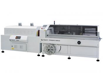 Machines de conditionnement en L semi-automatiques avec tunnel de thermorétraction FP500HS_SERVO