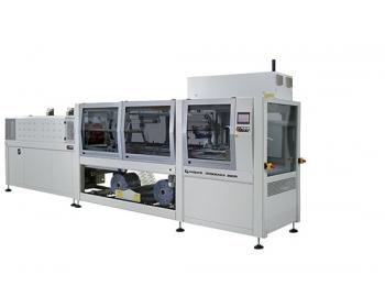 Fardeleuses automatiques avec entrée à 90° à lancement de film BP802ARX 280R