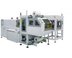 Fardeleuse automatique avec entrée à 90°, structure monobloc et barre de soudure BP802ARV 350R-DP