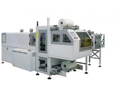 Fardeleuse automatique avec entrée à 90°, structure monobloc et barre de soudure BP802ARV 350R-SP