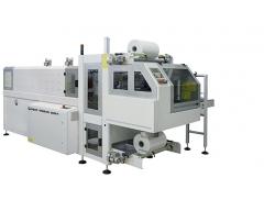 Fardeleuse automatique avec entrée à 90°, structure monobloc et barre de soudure BP802ARV 280R-P