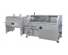 Soudeuse en L automatique avec tunnel de thermorétraction FP6000CS INOX